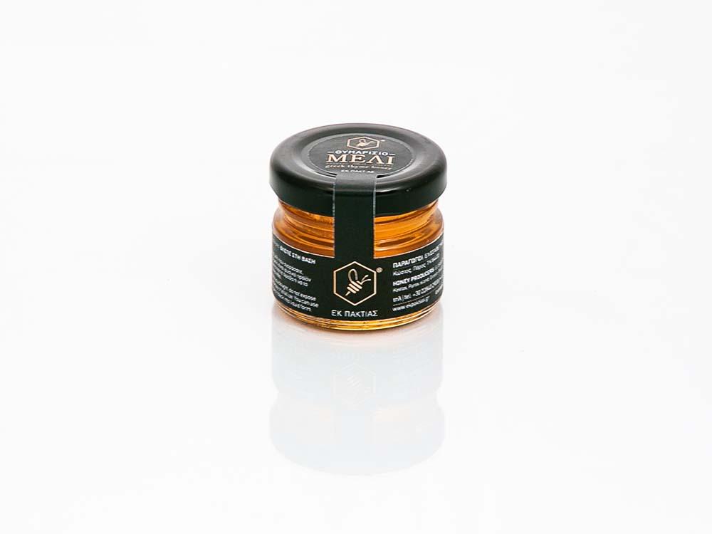 Εκ Πακτίας Μελισσοκομική Θυμαρίσιο Μέλι 30 ml Πάρος