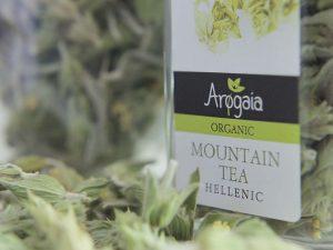 Αρωγαία Αποξηραμένα Αρωματικά Φυτά Βιολογικό Τσάι του Βουνού