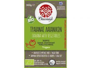 Οικοπάλ Προϊόντα Βιολογικής Γεωργίας Τρίκαλα Τραχανάς Λαχανικών χωρίς ζωικά συστατικά Νηστίσιμος