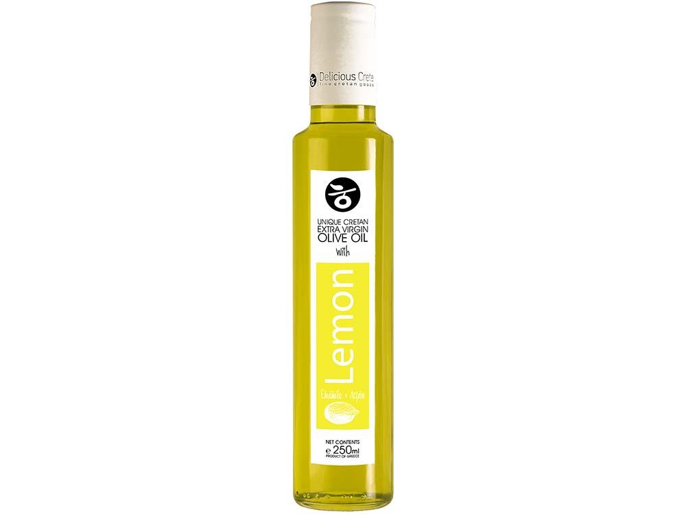 Delicious Crete Eλληνικά και Κρητικά Προϊόντα Εξαιρετικό παρθένο ελαιόλαδο με Λεμόνι