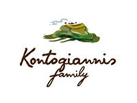 Kontogiannis Family Οικογένεια Κοντογιάννη Ελαιώνας και Αμπελώνες Κόρινθος