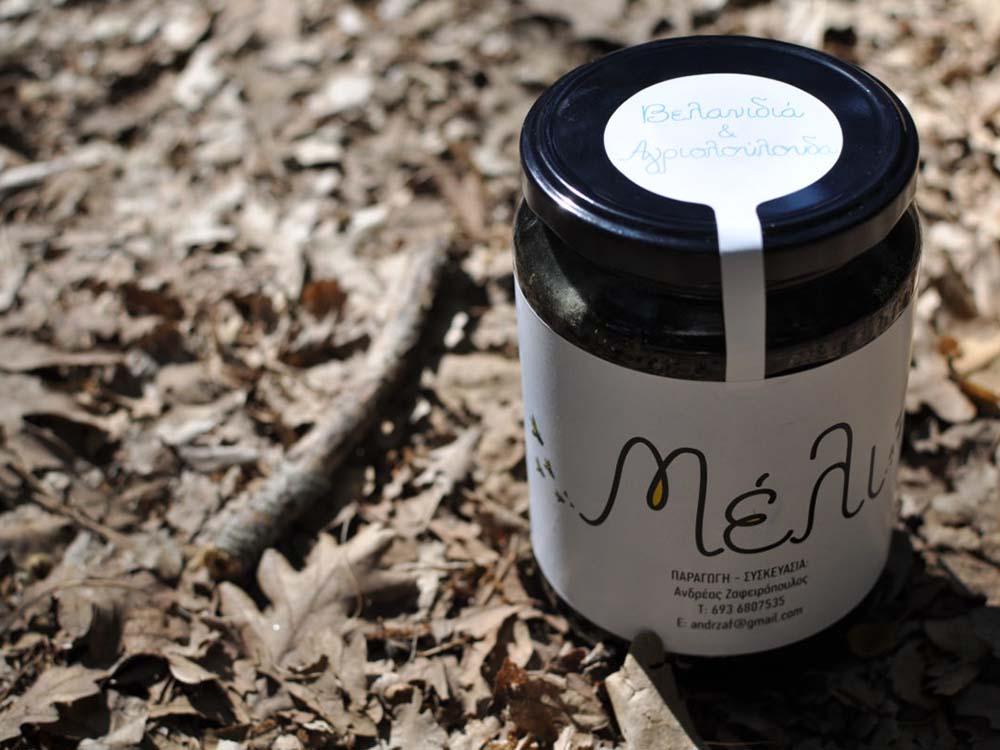 Μέλι φυσικά ελληνικά προϊόντα μέλισσας Μέλι από Βελανιδιά & Αγριολούλουδα