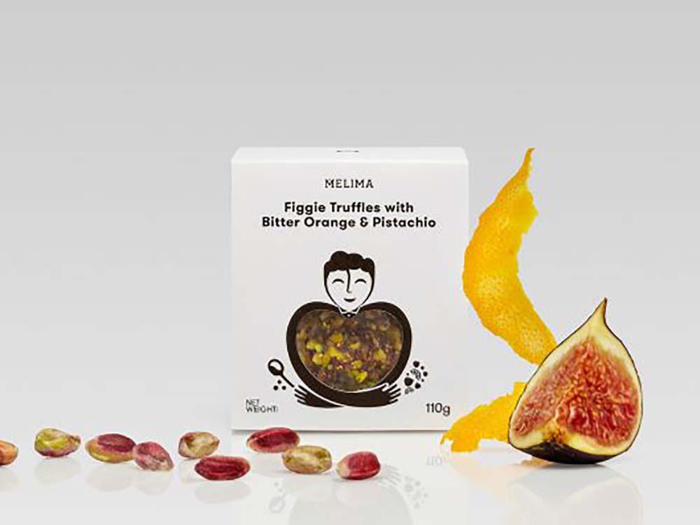 MELIMA εργαστήριο ελληνικών προϊόντων Άγιος Στέφανος Συκοκεφτέδες με Νεράντζι & Φιστίκι Αιγίνης