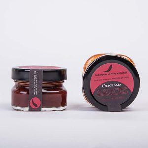 Oliorama Πύργος Τσάτνεϊ κόκκινης πιπεριάς με τσίλι